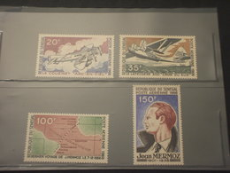 SENEGAL - P.A. 1966 AVIATORE 4  VALORI- NUOVI(++) - Senegal (1960-...)