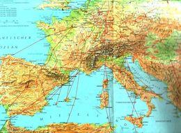 Weltkarte,Europäische Karte Und Karte Von Europa+Afrika /entnommen Aus Ratgeber Fuer Haus Und Familie /Datum Unbekan58 - Books, Magazines, Comics
