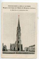 Bergerac Protection Contre La Grêle Et Les Orages Niagara électrique Sur L'église De Bergerac - Bergerac