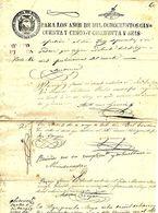 C) ECUADOR, FRANCA QUITO PARA LOS AÑOS 1850-1856 - Stamps