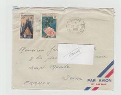 LSC 1982 - Cachet NOUMEA Sur YT 277 Et YT 293 - Briefe U. Dokumente
