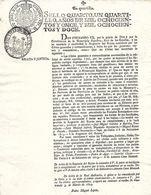 C) ECUADOR, PROHIBICION DE AZOTES A INDIOS EN TODA LA MONARQUIA ESPAÑOLA 1811-1812 - Stamps