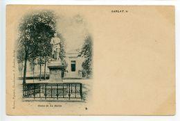 Sarlat Statue De La Boétie - Sarlat La Caneda