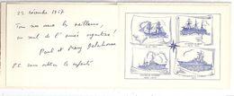 """CROISEUR ANTI-AERIEN  """"COLBERT""""  1957   Voeux ..... - Documents"""