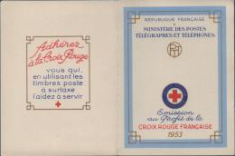 CARNET CROIX-ROUGE N°2002 TIMBRES NEUFS** 1953 - Libretas