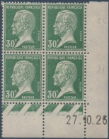 N°__174 COIN DATE 30C. VERT TYPE PASTEUR TIMBRES NEUFS*, 1921-1922 - ....-1929