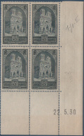 N°__259a COIN DATE CATHEDRALE DE REIMS AU TYPE II, TIMBRE NEUF ** 1929 - ....-1929