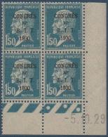 N°__265 CONGRES DU B.I.T, TIMBRE NEUF *, 1930 - Coins Datés