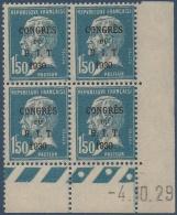 N°__265 CONGRES DU B.I.T, TIMBRE NEUF **, 1930 - Coins Datés