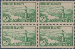N°__301 BLOC DE 4 TIMBRES POSTE RIVIERE BRETONNE 1935 NEUF** - Nuevos