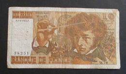 Francia 10 Dix Francs 1974 - 1962-1997 ''Francs''