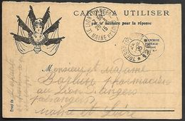 CM 136  Correspondance Militaire Du 22-03-15 Cachet Trésor Et Postes Double Cercle N°(SP)126 11ème Division D'Infanterie - Marcofilie (Brieven)