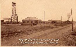 FONTEVIVO PARMA CANTIERE RICERCHE PETROLIO E DERIVATI AGIP 1930 - Parma
