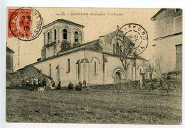 Montanceix Montrem L'église - France