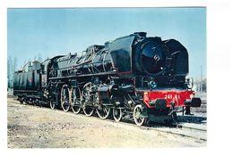 Train Chemin De Fer Locomotive à Vapeur 241 A 41001 Est De 1925 CPM GF - Trains