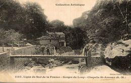 06 - Ligne Du Sud De La France - Gorges Du Loup, Chapelle Saint Arnoux - France
