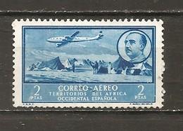 África Occidental Española - Edifil 23 - Yvert Aéreo 5 (o) - Marruecos Español