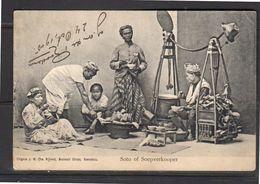 Seller Of Soup To Nieuwediep ± 1900 (ni9-57) - Indonesia