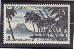 CP38 - OCEANIE PA32** De 1955 - Pic De Bahia à Bora Bora. - Océanie (Établissement De L') (1892-1958)