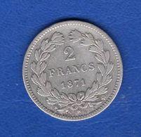 2  Fr  1871 K   Sans  Légende - France