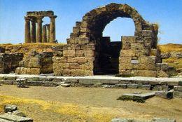 Korinth - Antik -diesladen Undder Tempel Des Apollo - Formato Grande Viaggiata – E 4 - Grecia