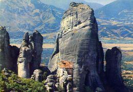 Meteora - Roussanos Convent - Formato Grande Viaggiata – E 4 - Grecia