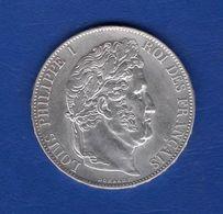 5  Fr  1848a  Ttb + - J. 5 Francs