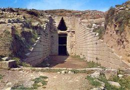 Micene - Tomba Di Clitemnestra - Formato Grande Viaggiata - E 4 - Grecia