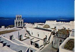 Patmos - Le Monastere De Saint Jean - Formato Grande Viaggiata – E 4 - Grecia
