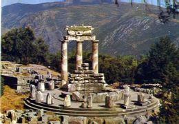 Delfos - Tholos - Marmaria - Formato Grande Viaggiata – E 4 - Grecia