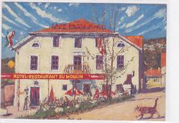 Cpa-sui- St Sulpice--hotel Restaurant Du Moulin Familie Antonio Rossetto-peinture Fritz Hug - NE Neuchâtel