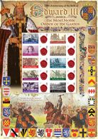 Great Britain 2012, King Edward III, Arms, Paintings, Sheetlet, LIMITED EDITION - Stamps