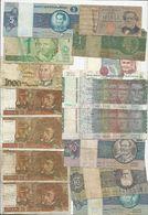 Lot 64 World Banknotes * Some On Bad Grade * 5 Scans - Mezclas - Billetes