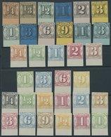 THURN Und TAXIS Aus 1-41 ND (*), 1909, 33 Neudrucke Komplett, Alle Vom Unterrand, Pracht - Thurn And Taxis