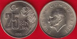 Turkey 25 Bin Lira 1995 Km#1041 AU - Turquie