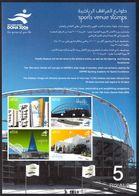 Qatar 2006 Dohar Venues Souvenir Sheet Unmounted Mint. - Qatar
