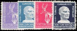 Turkey 1937 Historical Congress Fine Unmounted Mint. - Unused Stamps