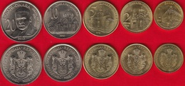 Serbia Set Of 5 Coins: 1 - 20 Dinara 2012 UNC - Serbie
