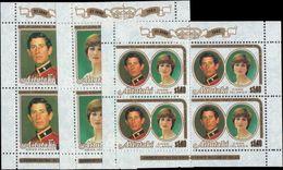 Aitutaki 1982 Royal Birth Sheetlets Unmounted Mint. - Aitutaki