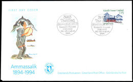Greenland 1994 Ammassilik First Day Cover - Brieven En Documenten