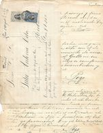 C) ECUADOR, CARTA CIVIL CON ESTANPILLAS - Stamps