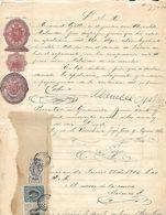 C) ECUADOR SELLO DE SEGUNDA CLASE 1901-1902 Y SELLOS DE 1903-1904 - Stamps