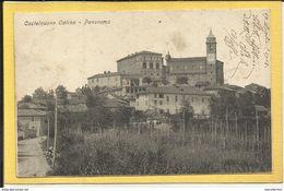 Castelnuovo Calcea (AT) - Piccolo Formato - Viaggiata - Italia