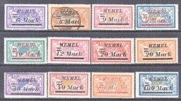 MEMEL  79 +  *   (o) - Memel (1920-1924)