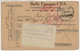 Militaria / 1916 / POW / Camp De Prisonniers De WAHN / KÖLN / Kriegsgefangenenlager / GEPRÜFT +++ Gefangenenlager - Marcophilie (Lettres)