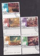Samoa SG 459-463 1976 Bicentenary Of American Revolution,used - Samoa