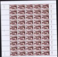 1955  Plébiscite  Yv 345  MiNr 363  Feuille Complète **  Kleinbogen ** - Neufs