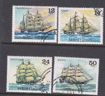 Samoa SG 540-543 1979 Sailing Ships 1st Series,used - Samoa