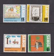 Samoa SG 629-632 1982 Christmas,mint Never Hinged - Samoa