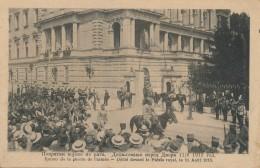 H93 - SERBIE - Retour De La Guerre De L'Armée - Défilé Devant Le Palais Royal - Le 11 Août 1913 - Serbie